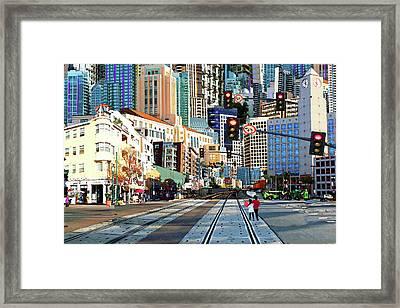 Crossings Framed Print by John Linthurst