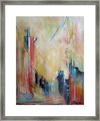 Crossings Framed Print