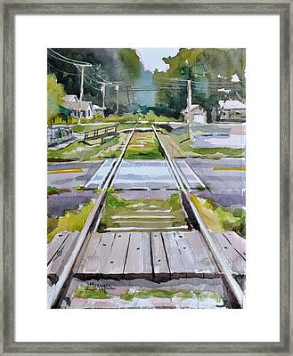 Crossings Framed Print by Spencer Meagher