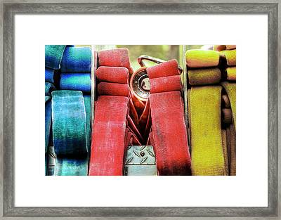 Crosslays  Framed Print by Drew Castelhano