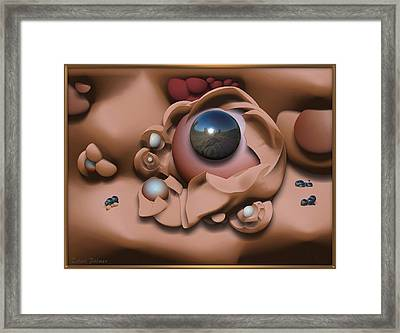 ' Cross Pollenation ' Framed Print