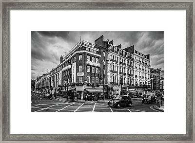 Crossroad Framed Print