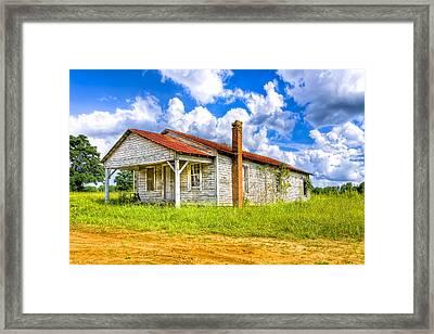 Crossroad Store - Rural Georgia Landscape Framed Print by Mark Tisdale