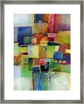 Crossroads 2 Framed Print by Hailey E Herrera