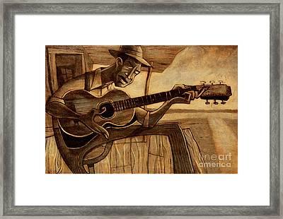 Crossroads Framed Print by Sean Hagan