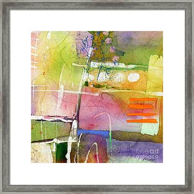 Crossroads - Yellow Framed Print
