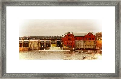 Croton Hydroelectric Plant Framed Print