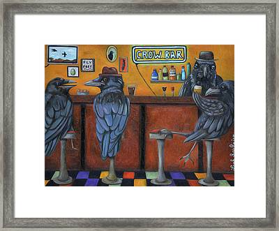Crow Bar Framed Print