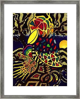 Crow Framed Print by Gayland Morris