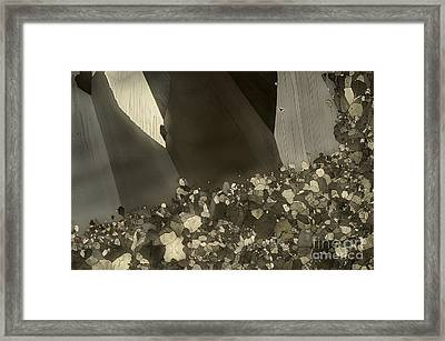 Framed Print featuring the photograph Crowd by Olimpia - Hinamatsuri Barbu