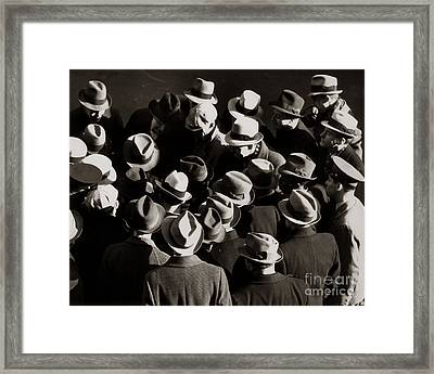 Crowded Street, C.1930-40s Framed Print by H. Armstrong Roberts/ClassicStock