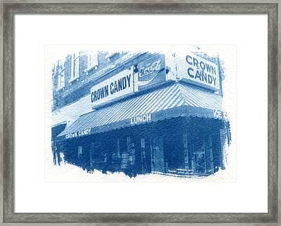 Crown Candy Framed Print by Jane Linders