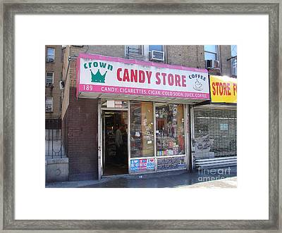 Framed Print featuring the photograph Crown Candy Store  by Cole Thompson
