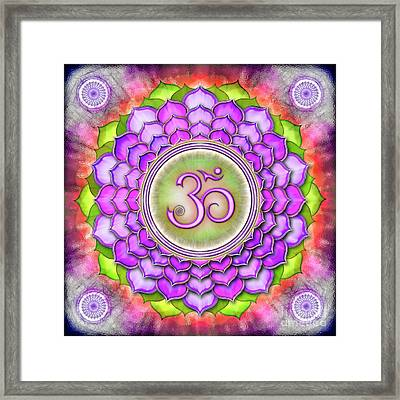 Crown Chakra - Series 3 Framed Print