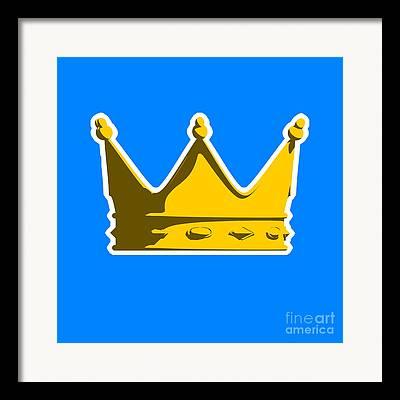 Crowned Framed Prints