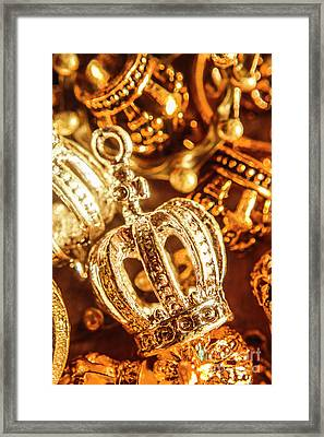 Crown Jewels Framed Print