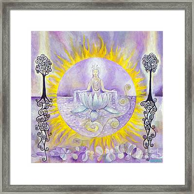 Crown Framed Print by Manami Lingerfelt