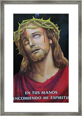Crown Of Christ Framed Print by Unique Consignment