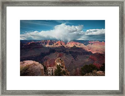 Crown Of Clouds Framed Print by Mike Buchheit