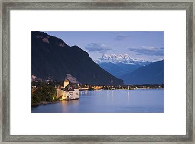 Crown Of The Alps Framed Print