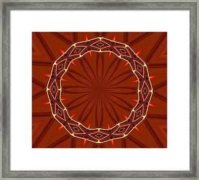 Crown Of Thorns Framed Print by Kristin Elmquist