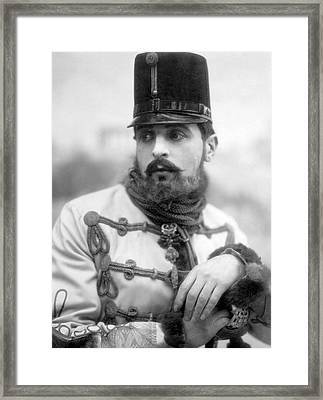 Crown Prince Rudolph Framed Print by General Photographic Agency
