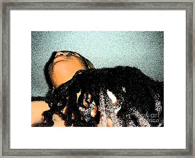 Crowned Framed Print by Fania Simon