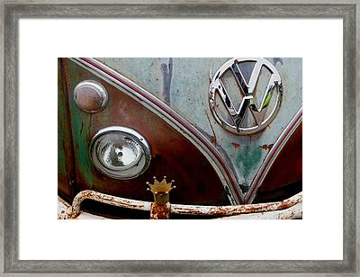 Crowned - Vw Framed Print