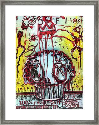 Crowning A Muffyn Framed Print by Robert Wolverton Jr