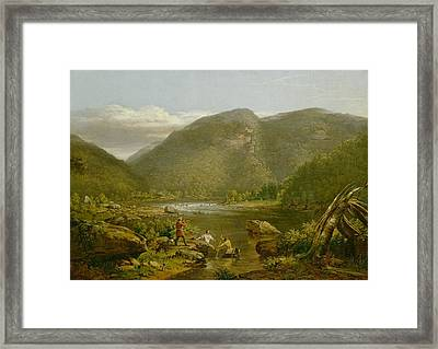 Crow's Nest Framed Print by Thomas Worthington Whittredge
