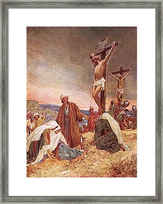 Crucifixion Framed Print by William Brassey Hole