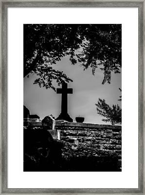 Crucis Framed Print