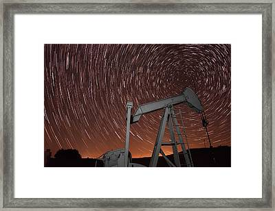 Crude Intentions Framed Print by Frank Blanscet