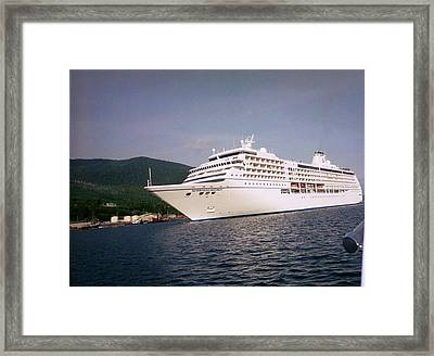 Framed Print featuring the photograph Cruise In Style by Judyann Matthews