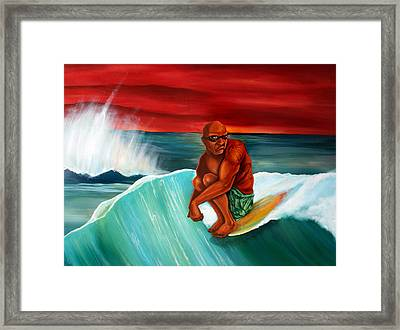 Cruise Framed Print by Robert  Nelson