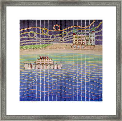 Cruise Vacation Destination Framed Print