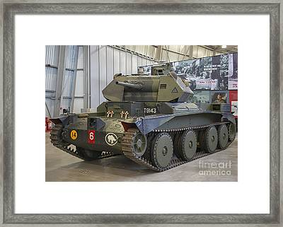 Cruiser Tank Mark IIi In Bovington, Uk Framed Print by Ivan Batinic