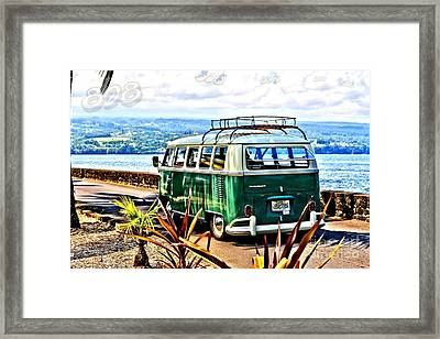 Framed Print featuring the photograph Cruisin' 808 by DJ Florek