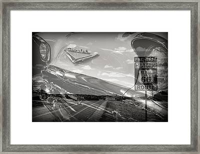 Cruisin Route 66 Framed Print