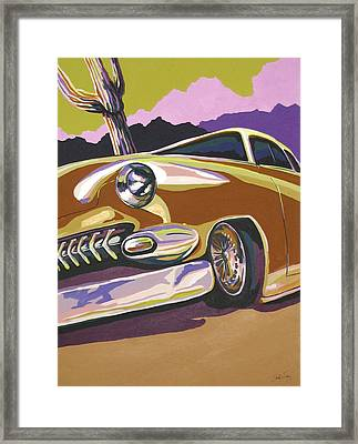 Cruisin Framed Print by Sandy Tracey
