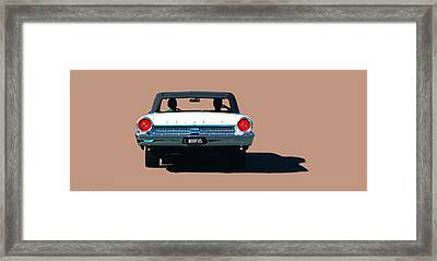 Cruisin' Framed Print