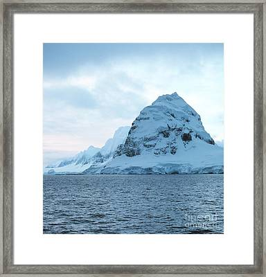 Cruising Back To Punta Arenas Chile Framed Print