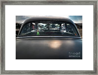 Cruising Framed Print by David B Kawchak Custom Classic Photography