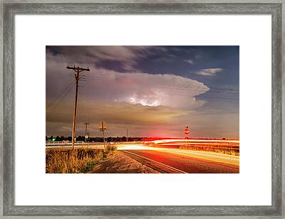 Cruising From The Storm Framed Print by James BO Insogna