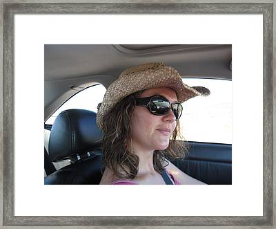 Framed Print featuring the photograph Cruising by Tammy Sutherland