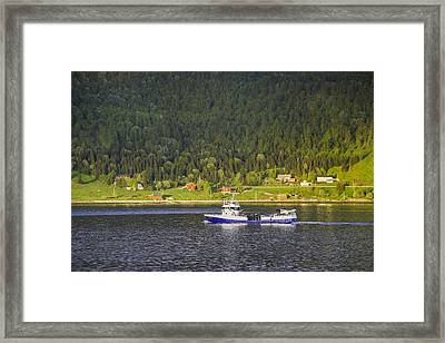 Cruising The Northernmosts Framed Print by Alan Toepfer
