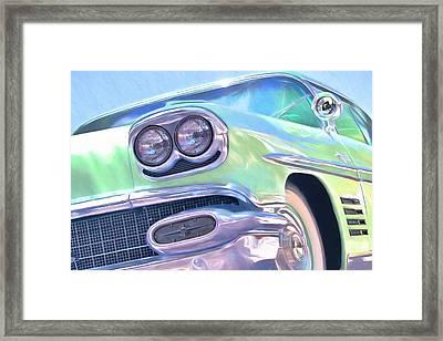 Cruisn' Down The Road Framed Print
