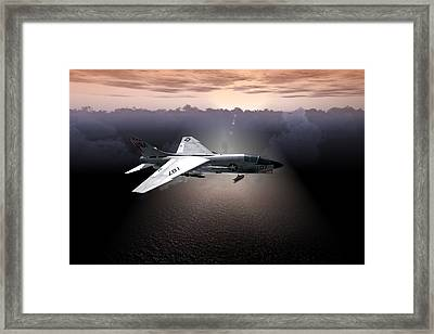 Crusader Loaded Framed Print
