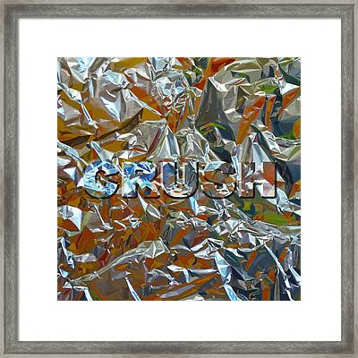Crush Framed Print