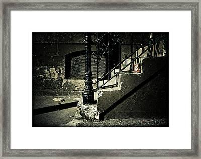 Crush Framed Print by Jessica Brawley